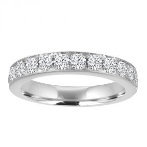 TWO by London Diamond Pave Channel Anniversary Band