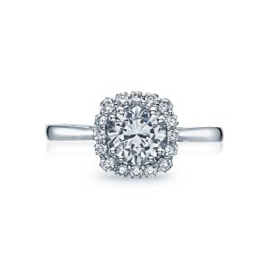 Tacori Full Bloom Round Solitaire Engagement Ring