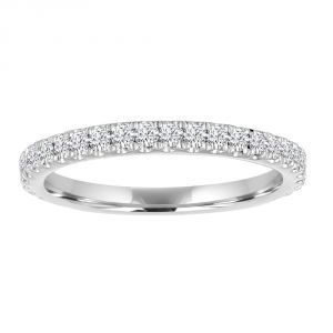 TWO by London Round Diamond 3/4 Anniversary Band