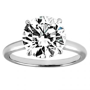 TWO by London Classic Round Diamond Solitaire Engagement Ring