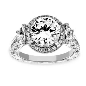 Martin Flyer Honeymoon Diamond Engagement Ring