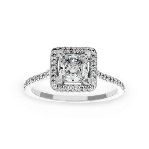 Michael B. Royal Trois Princess Engagement Ring