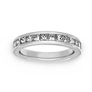 Martin Flyer Channel Set One Carat Diamond Band
