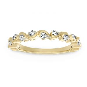 TWO by London Vine Style Diamond Band