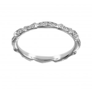 Michael B. Venice Lily Of The Valley Diamond Eternity Band