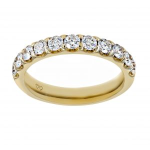 TWO by London Round Diamond Wedding Band