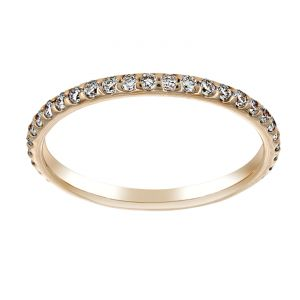 TWO by London Thin Round Diamond Eternity Wedding Band
