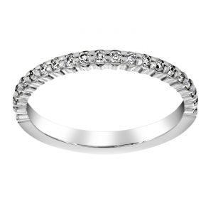 TWO by London Shared Prong Diamond Wedding Band
