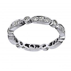 Single Stone Sadie Diamond Eternity Band