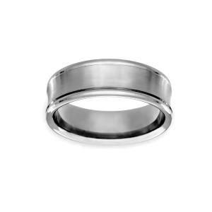 Benchmark Concave Wedding Band