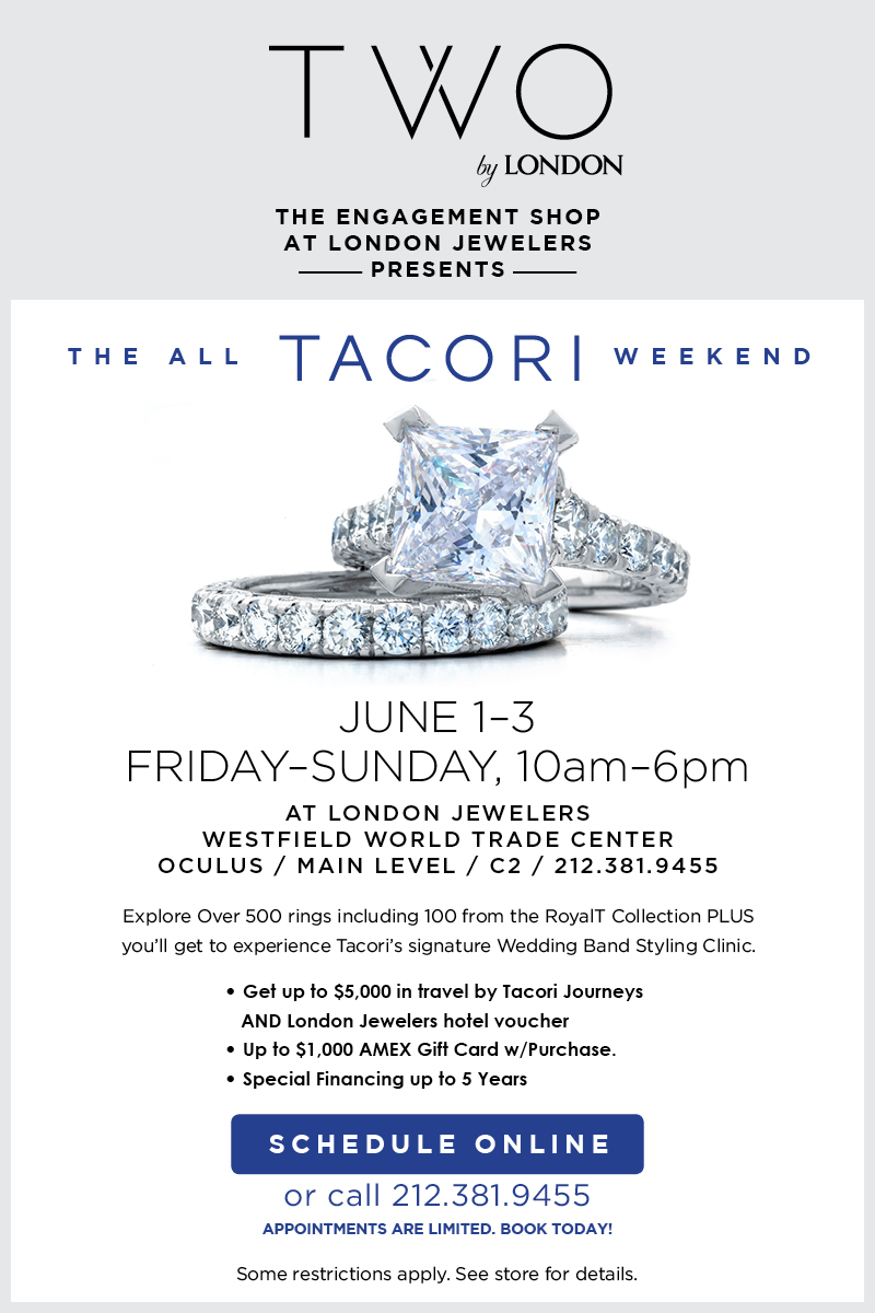 Tacori Weekend Flyer