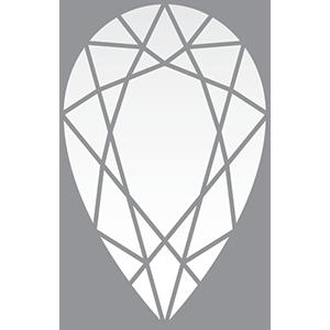 Pear 1.310 F SI2 9.42 x 6.11 x 3.85 2855 36832